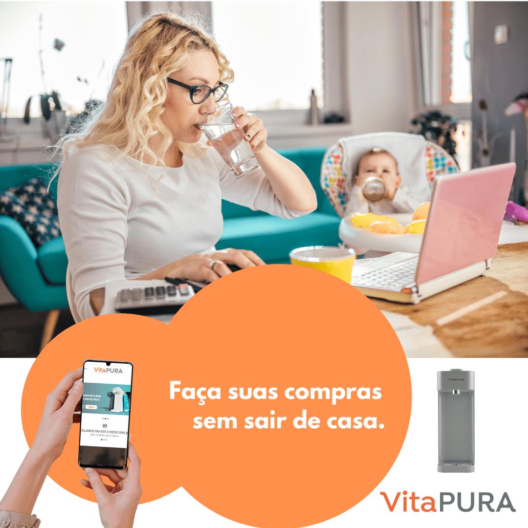 Faça suas compras sem sair de casa - VitaPura